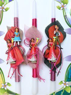 Πασχαλινές λαμπάδες Disney-Elena of avalor