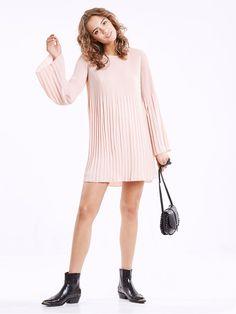 Chloe dress | | Vaalea pinkki | BikBok | Suomi