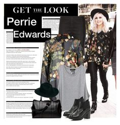 """Perrie Edwards"" by ntonkovic ❤ liked on Polyvore featuring Arche, Valentino, River Island, Nomadic, ASOS, women's clothing, women's fashion, women, female and woman"