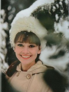 .Audrey Hepburn. Beautiful smile. Very charming woman, both on the screen and in person.  Volunteered in many charities.