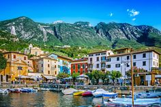 Planning a trip to Lake Garda, Italy and looking for inspiration? In this post find the best towns in Lake Garda, great places to visit in Lake Garda Siena Italy, Puglia Italy, Sicily Italy, Venice Italy, Around The World Theme, Around The World In 80 Days, Travel Around The World, Italy Restaurant, Lake Garda Italy