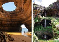 Sea Caves-Benagil, Portugal