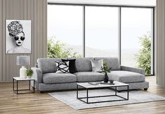 Lounge Sofa, Chaise Sofa, Sofa Sale, Queen Beds, First Home, New Furniture, Townhouse, Dining Chairs, Plush