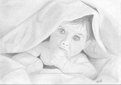 Baby under a blanket on http://hfportretten.wordpress.com/