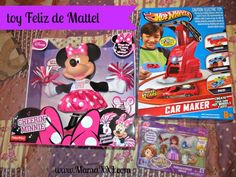 Juguetes toy Feliz de Mattel {Video tutorial y Sorteo}