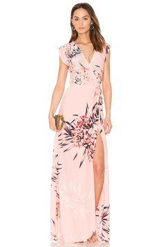 Yumi Kim Swept Away Maxi Dress in Tropical Tonic
