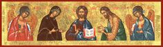 I've heard it from others and wondered it myself when first exploring Orthodoxy: why don't we see Jesus or the saints smile in iconography? Byzantine Icons, Byzantine Art, Jesus Cartoon, Religion, Celtic Mythology, Book Of Kells, Christmas Icons, Triple Goddess, Art Icon