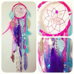 I will make a pretty one like this. #dreamcatcher