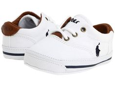Shop for Vaughn (Infant/Toddler) (White Canvas) Kids Shoes by Polo Ralph Lauren at ShopStyle. Toddler Boy Shoes, Baby Boy Shoes, Infant Toddler, Infant Boy Shoes, Nike Kids Shoes, Boys Shoes, Cute Baby Boy Outfits, Kids Outfits, Kids Clothes Sale