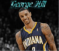 George Hill George Hill, Nba Stars, Indiana Pacers, Tank Man, Sports, Mens Tops, Fashion, Hs Sports, Moda