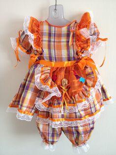 vestido caipira infantir - Pesquisa Google