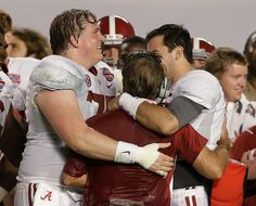 What a moment that we will always remember. AJ, Barrett, and Coach Saban celebrate 2013 BCS victory Sec Football, Fall Football, Crimson Tide Football, Alabama Football, Alabama Crimson Tide, College Football, Funny Audio, Alabama Shirts, Nick Saban