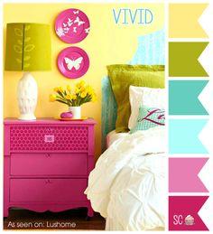 Vivid - Color Palette http://inspiresweetness.blogspot.com