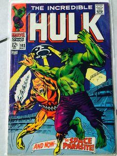 Incredible Hulk / Volume 1 / Number 103 / May 1968 / Marvel Comics Group