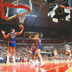 ... Detroit Pistons Bill Laimbeer (40) in action 7a1024658