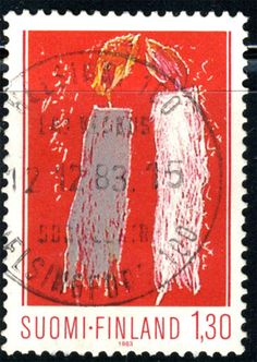 1983 Finland - Christmas postage stamp