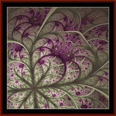 Fractal 576 cross stitch pattern by Coss Stitch Collectibles | Crafting…