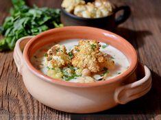 Sült karfiol-csicseriborsó leves | Paleo, Food And Drink, Bab, Beach Wrap, Paleo Food