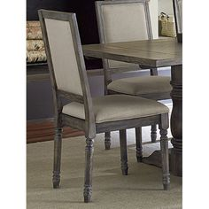 Muses Upholstered Back Chair Set Of 2 Progressive Furniture Side Chairs Dining