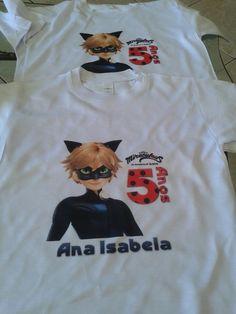 Camisa Ladybug - Ana Isabela - 5 Anos