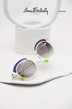 ANNE & VALENTIN Eyewear - Model SKYFALL - LUNETTE ANNE ET VALENTIN