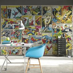 Shop wayfair.co.uk for your Comic Heroes Wall Mural. Find the best deals on all Wall Stickers products, great selection and free shipping on many items!
