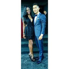 ANTM Cycle 22 Justin Kim and Mame Adjei Celebrity Interracial AMBW Couple Instagram Pictures #JUSTINANTM #MAMEANTM