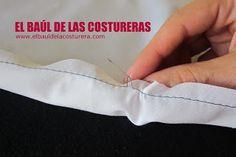 Cómo coser un ruedo curvo, con acabado profesional Capsule Wardrobe, Sewing, Crafts, Craft Ideas, Diy, Fashion, Tela, Vestidos, Couture Facile