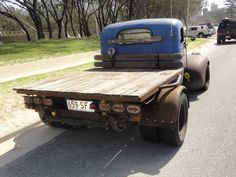 rat rod dually trucks | 1947 Chevrolet Truck hot rod rat rod chevy dually | Cars, Vans & Utes ...