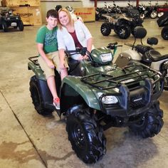 Thanks to Colton King and Diane Gilmore from Petal MS for getting a 2013 Honda FourTrax Foreman 4x4 at Hattiesburg Cycles