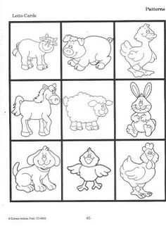 Baby Farm Animal Coloring Pages Coloring And Templates Farm