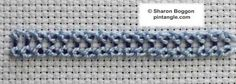 Knotted buttonhole band tute