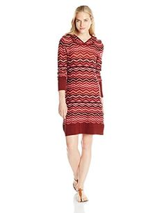 prAna Womens Meryl Sweater Dress Large Raisin >>> Want to know more, click on the image-affiliate link.