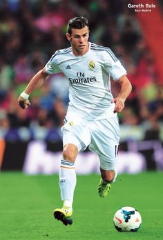 "O-7501 Real Madrid 2014 "" Gareth Bale"" - Football , Soccer, Sport Collections,decorative Poster Print Vintage... $8.99"