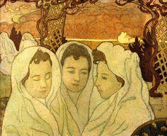 Musée Maurice Denis - Triple Portrait de Marthe fiancée