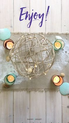 How To Make Rustic Jute Orbs