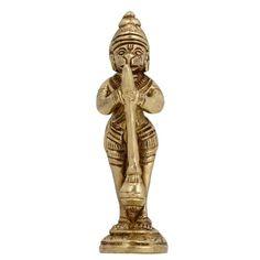 Monkey God Hanuman Hinduism Worship Art Sculpture Metal Brass ShalinIndia http://www.amazon.in/dp/B004BXXMDY/ref=cm_sw_r_pi_dp_OYwaub19KD3GC