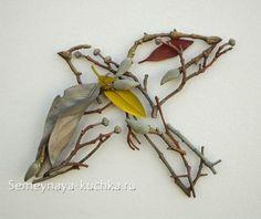 поделки из природного материала из веток Twig Crafts, Nature Crafts, Arts And Crafts, Art Floral, Art Et Nature, Nature Artists, Art Environnemental, Twig Art, Stick Art