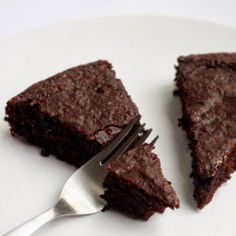 Brownies z červené řepy - vegan food porn