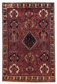 Wunderschöner Perser Teppich  Handgeknüpfte alfombra  255 x 169 cm orient carpet