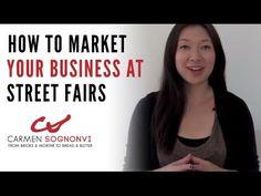 Top 7 Street Fair Booth Ideas for Local Business Marketing | Carmen Sognonvi