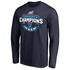 ad6d89bb Villanova Wildcats Fanatics Branded 2017 Big East Men's Basketball  Tournament Champions Long Sleeve T-Shirt - Navy