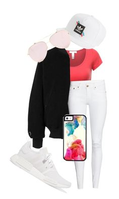 """""""Untitled #101"""" by purple4048 on Polyvore featuring adidas and adidas Originals"""