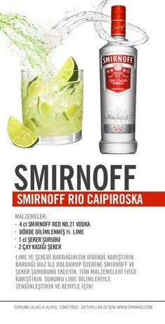 Smirnoff Rio Caipiroska