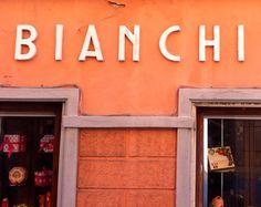 Sign, Bianchi Pasticceria (Levanto, Italy)