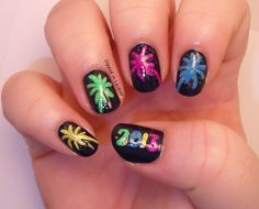 It's almost time for the New Year! I've rounded up some of my favorite New Year's Nail Art Designs for you here! Want to know where to find them? Click the pictures below for the original sources! KEEP ORGANIZED! Sign up now to get this free weekly meal planner and more straight to your inbox!