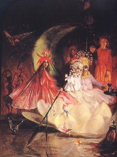 John Anster Fitzgerald. Midsummer Eve Fairies
