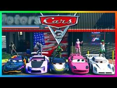 awesome GTA ONLINE PIXAR: CARS 3 MOVIE SPECIAL - GTA 5 LIGHTNING MCQUEEN, VEHICLES IN CARS 3 MOVIE & MORE!