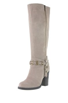 In search of the perfect fall boot: Chinese Laundry Backstreet Mid Heeled Tall Shaft Boot on HauteLook