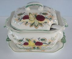 Royal Sealy Soup Tureen by TheGardenAndMore on Etsy,